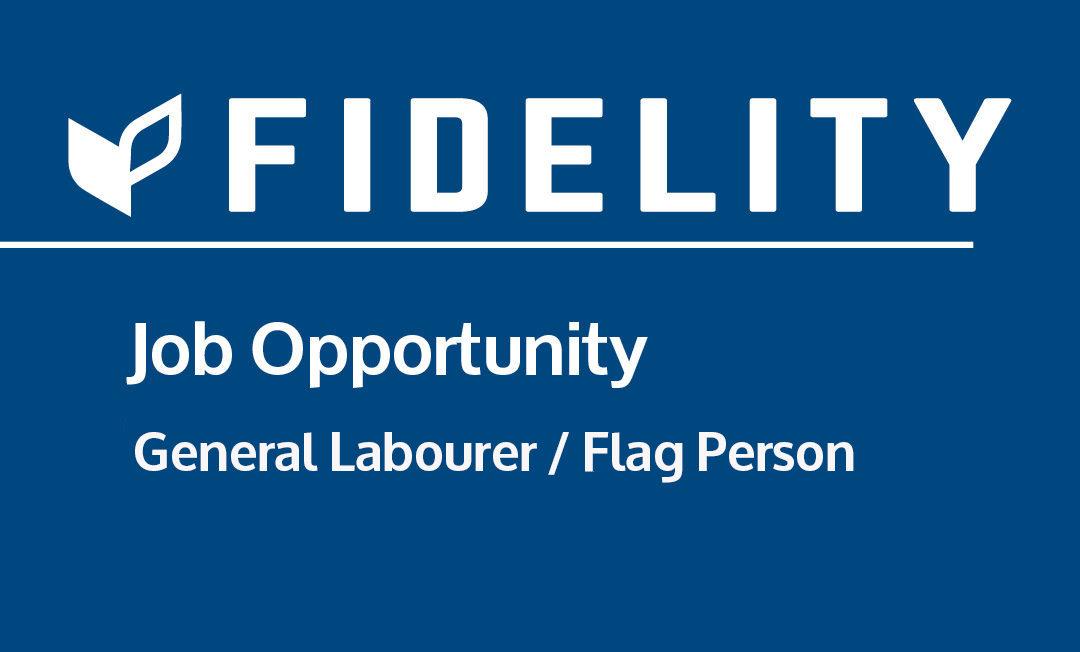 General Labourer / Flag Person