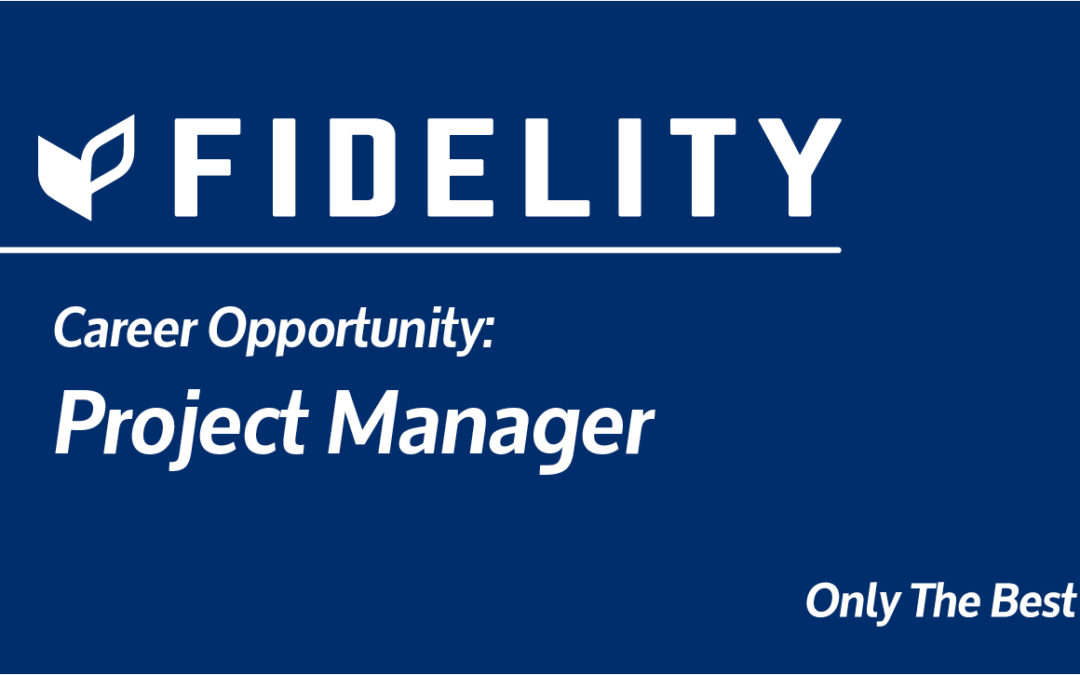 Career Opportunity: Project Manager