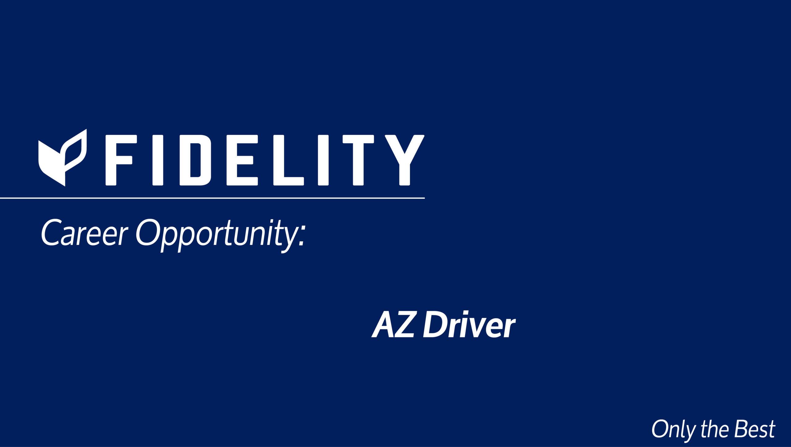 Career Opportunity: AZ Driver