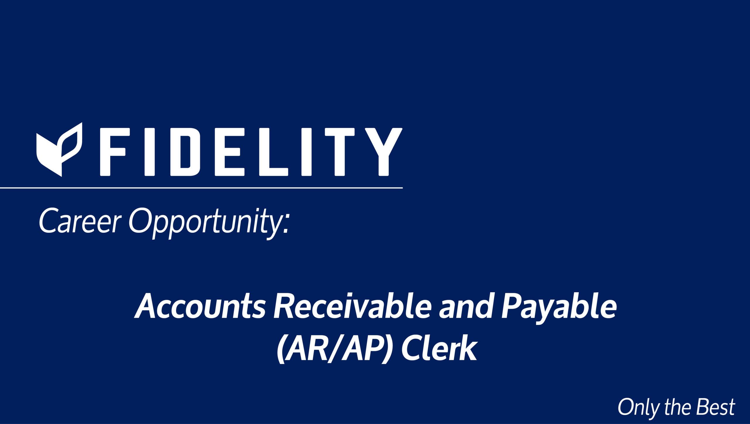 Accounts Receivable and Payable (AR/AP) Clerk