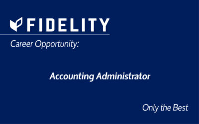 Career Opportunity – Accounting Administrator